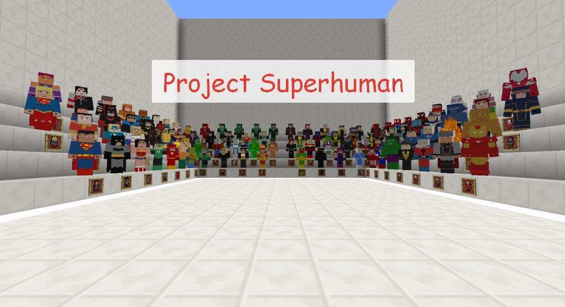 мод на майнкрафт 1.7.10 project superhuman #1