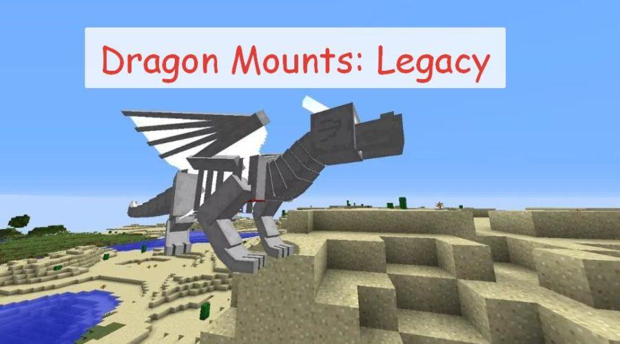 Dragon Mounts Legacy выращивание драконов