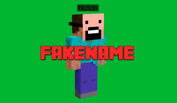 Fakename изменяем ник прямо в игре