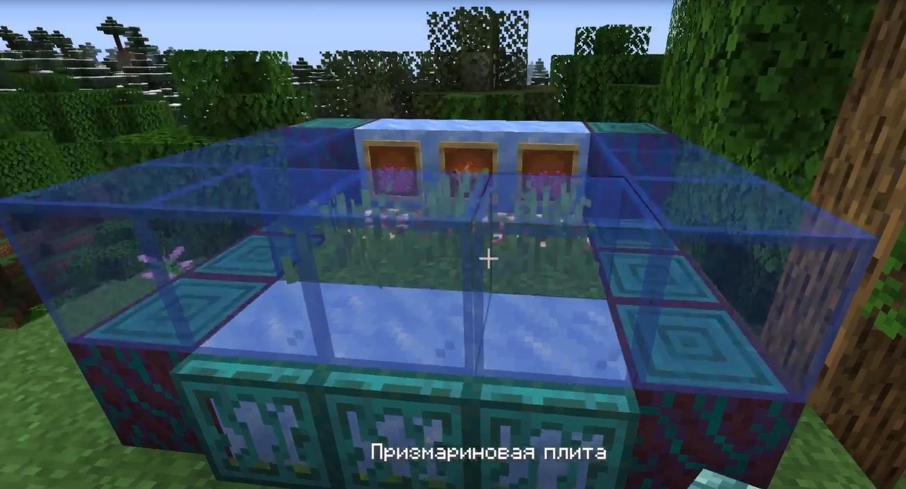 Строительство аквариума