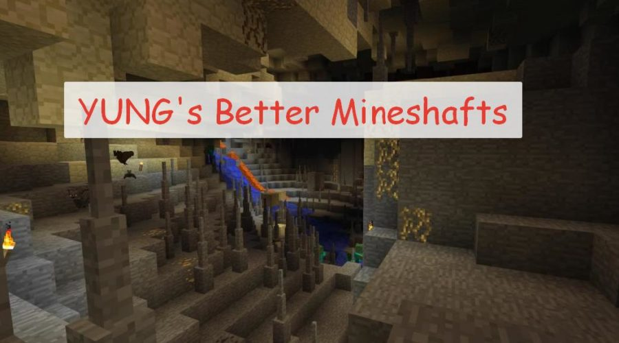 YUNG's Better Mineshafts генерация реалистичных шахт