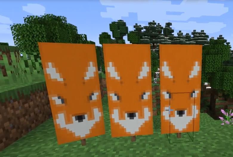 Создание флага лисы