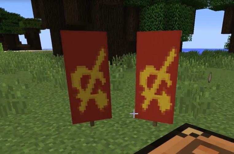 Крафт флага СССР
