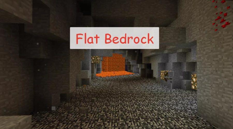 Flat Bedrock ровный слой бедрока