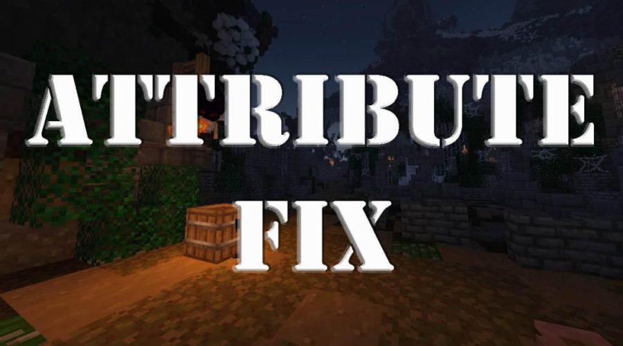 AttributeFix редактирование атрибутов предметов и значений игрока