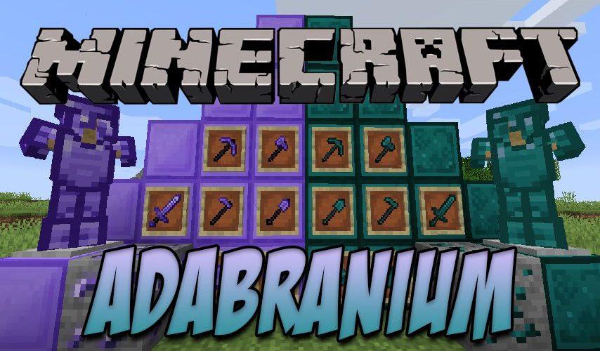 Adabranium новые руды, оружие и броня