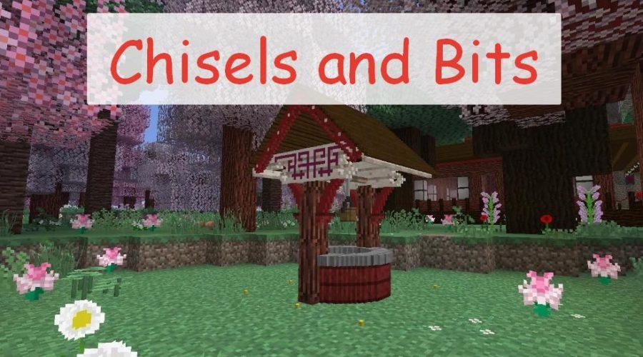 Chisels and Bits инструменты для изготовления предметов