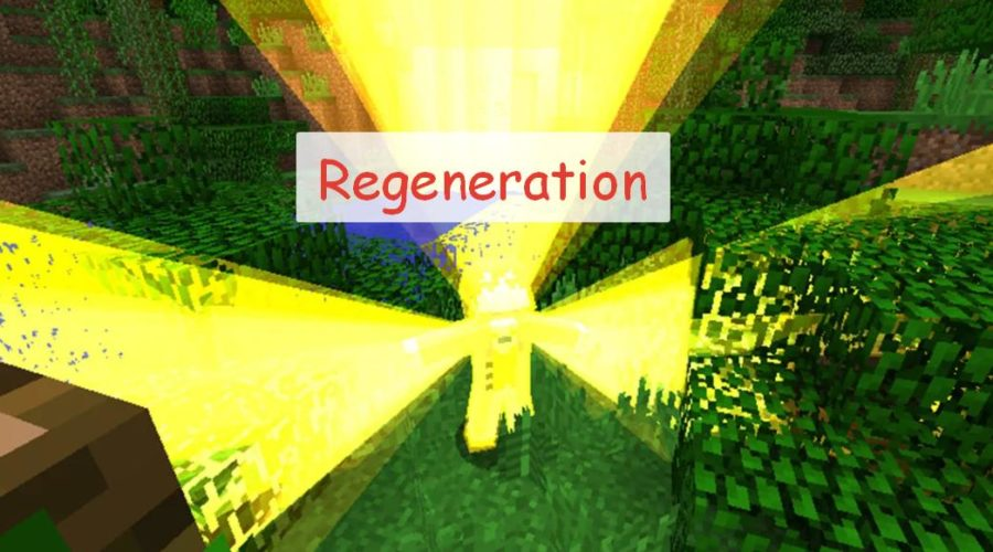 Regeneration - супер силы после получения смертельного урона