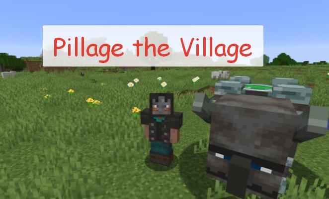 Pillage the Village разбойники и грабеж деревень