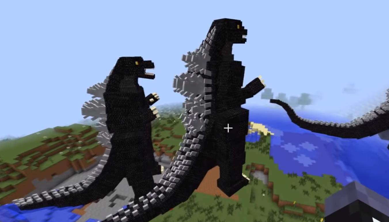 Godzilla новый моб Годзилла