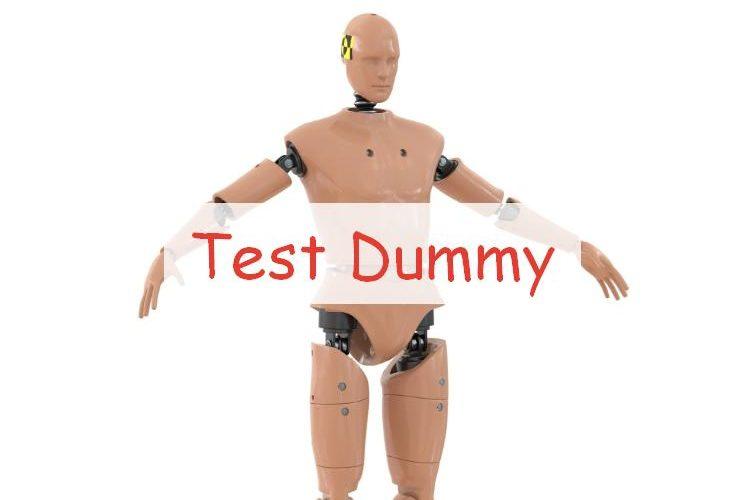 Test Dummy манекен для тестирования оружия