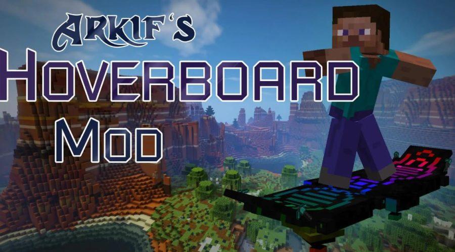 "Arkif's Hoverboard летающая доска как у Гоблина из ""Человека паука"""