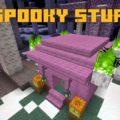 Spooky Stuff Хэллоуин биом