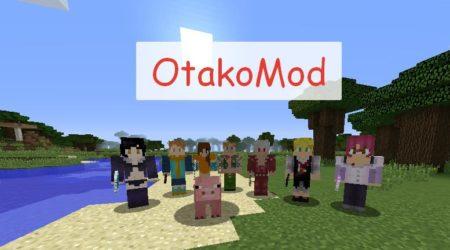 OtakoMod мобы персонажи из популярных аниме