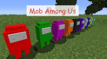 Mob Among Us - мобы из популярной игры Among Us