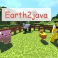 Earth2java мобы и вещи из Minecraft Earth