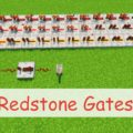Redstone Gates - новые логические элементы для создания редстоун схем