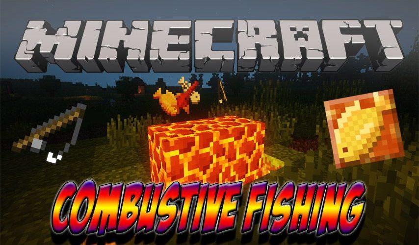 Combustive Fishing рыбалка в лаве
