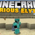 Curious Elytra дополнительный слот для крыльев в инвентаре