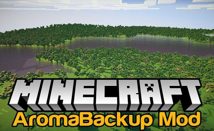 AromaBackup сохранение карты прямо в игре