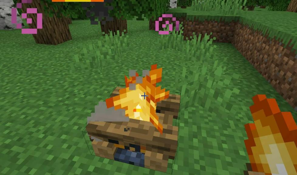 Healing Campfire лечебный костер