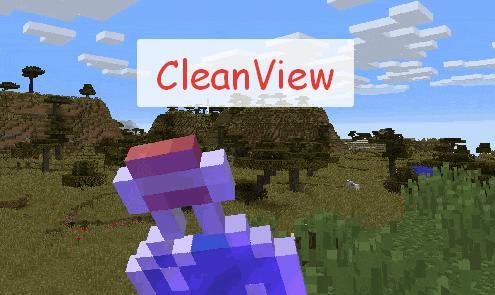 Clean View отключение визуальных эффектов от зелий