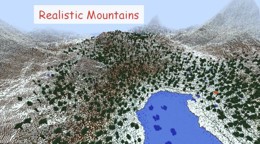 Realistic Mountains реалистичные, красивые горы