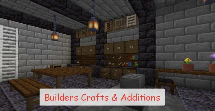 Builders Crafts & Additions мебель и декоративные блоки