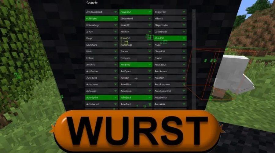 Wurst чит клиент