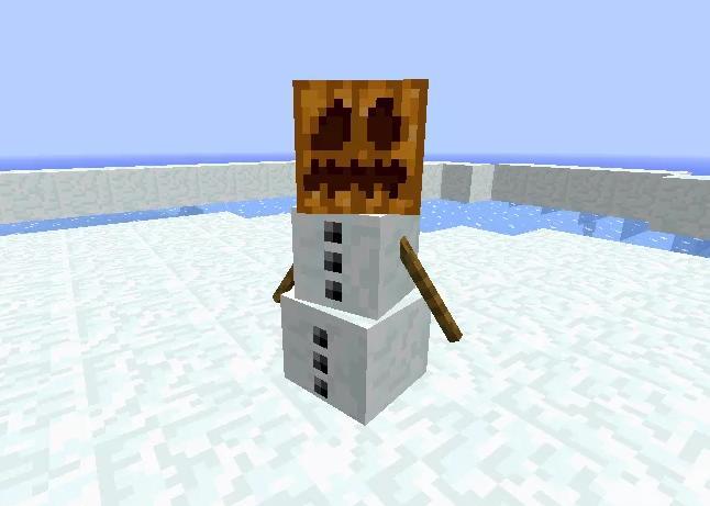 EnhancedSnowman снеговики наносят урон и замедляют