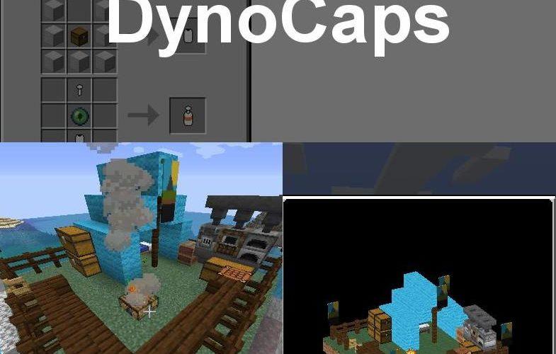 Dynocaps капсула переноса построек