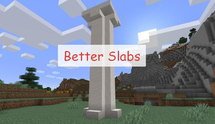 Better Slabs полублоки