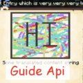 Guide Api библиотека для создания книг-гайдов по модам