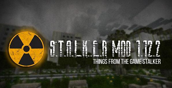 STALKER MOD оружие, мобы и аномалии