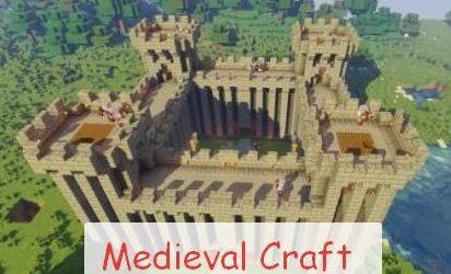 Medieval Craft крепости, замки и башни с охраной
