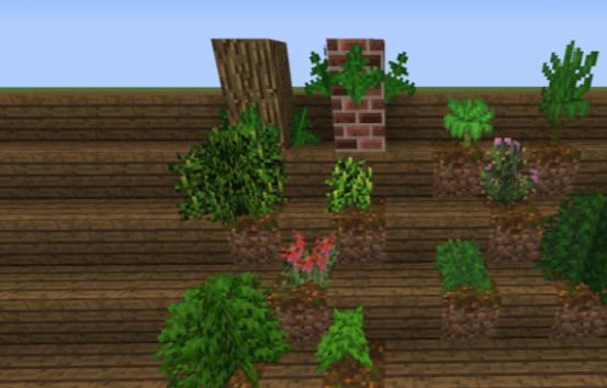 Natural Decor декоративные блоки и растения