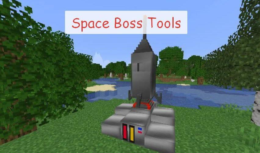 Space Boss Tools космический мод