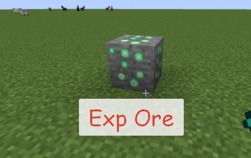 Exp Ore руда дающая опыт за ее добычу
