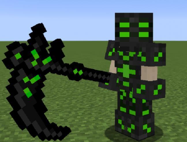 Fun Items новая руда, броня и оружие