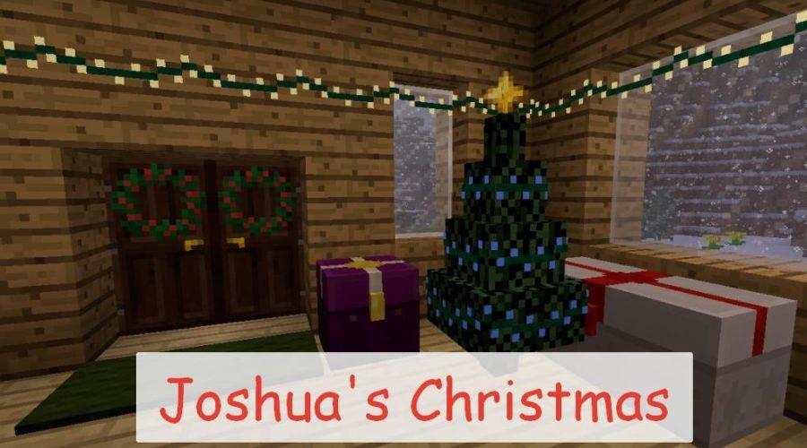 Joshua's Christmas новогодние украшения и еда