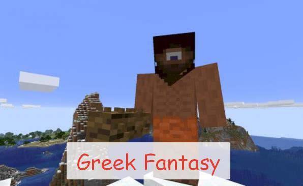 Greek Fantasy греческие мифические существа