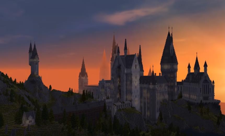 "Witchcraft and Wizardry карта в стиле ""Гарри Поттер"""