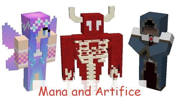 Mana and Artifice новая магия и ритуалы