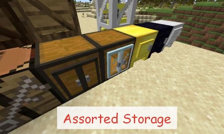 Assorted Storage новые виды сундуков