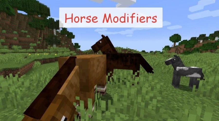Horse Modifiers прокачка лошади