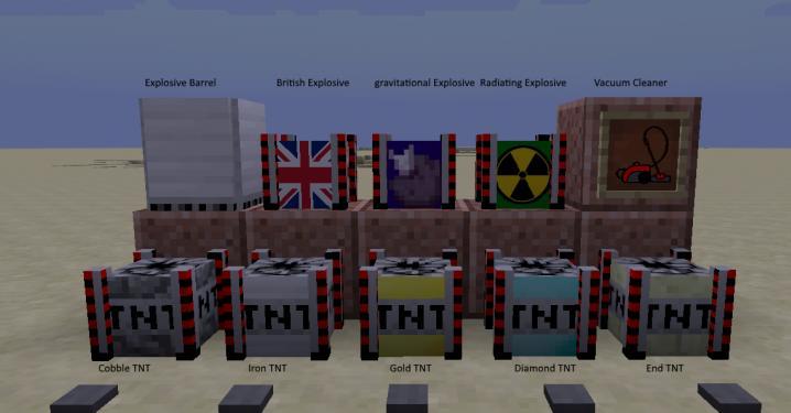 Iron TNT новые виды динамита и бомб