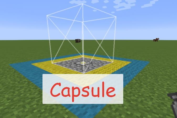 Capsule захват и перемещение части мира в капсуле