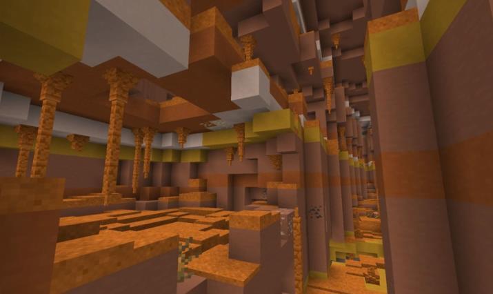 Subterranean Wilderness биомы для пещер