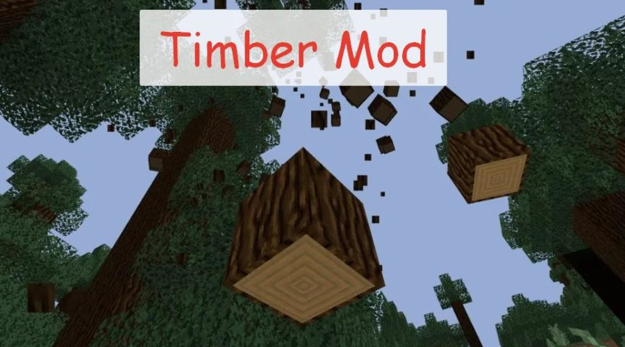 Timber Mod быстрое срубание дерева
