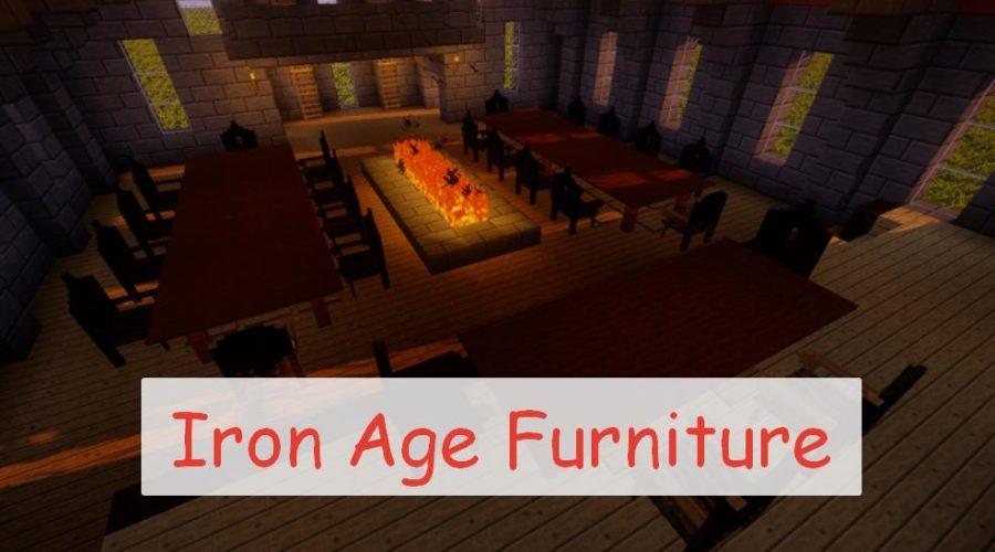 Iron Age Furniture - мебель 12-13 веков